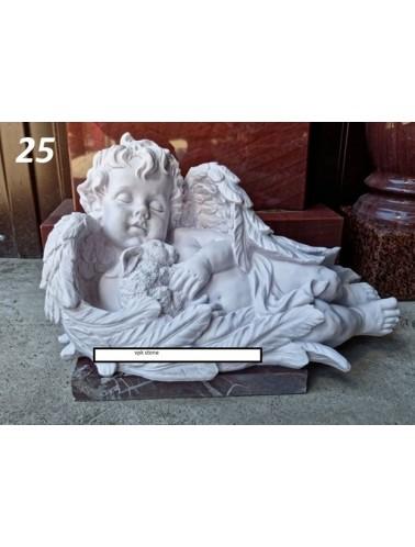 Скорбящий ангел (высота 25 см, длина 45 см)