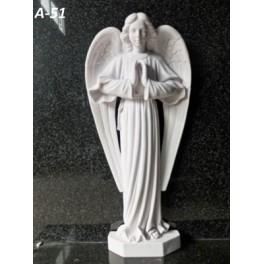 Скорбящий ангел (59 x 28 x 9 см)