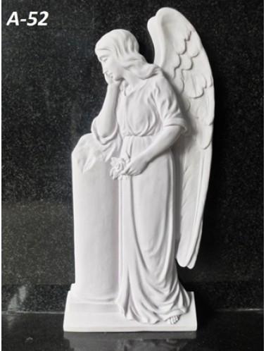 Скорбящий ангел (59 x 26 x 5 см)