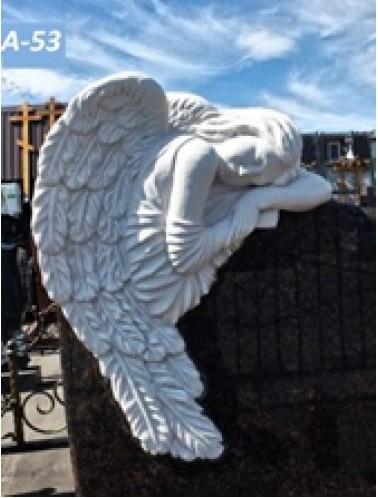 Скорбящий ангел (50 x 66 x 10 см)
