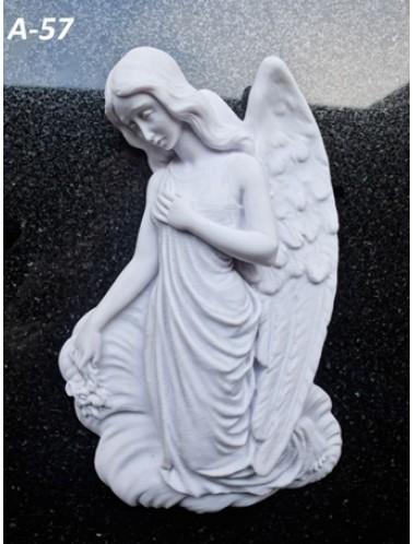 Скорбящий ангел (24 x 16 x 4,5 см)