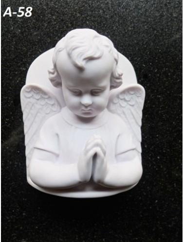 Скорбящий ангел (19 x 15,5 x 8 см)