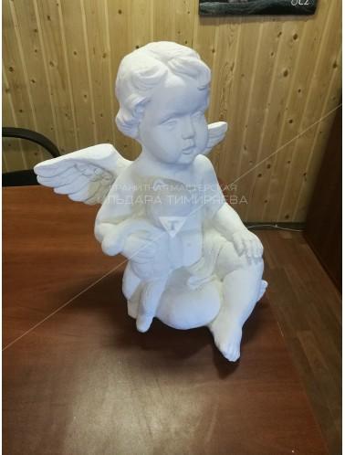 Ангелок с мишкой