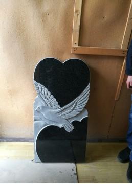 """Модель """"Сердце и голубь"""""""