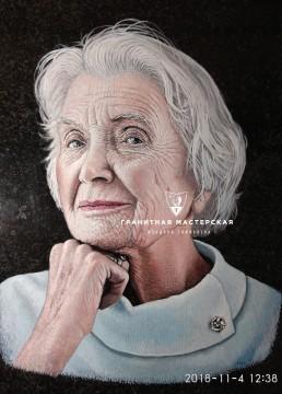 Гравировка цветного портрета