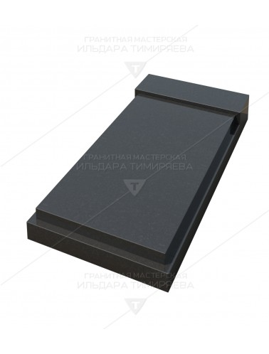 Надгробная плита прямоугольная 6-003