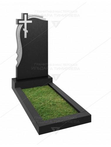 Памятник с крестом и плащаницей Модель vpk20-0114