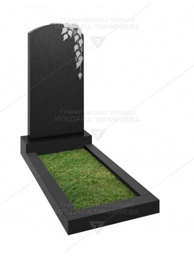 Памятник с березой Модель v20-0115
