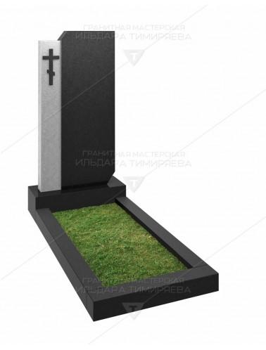 Памятник с крестом Модель v20-0123