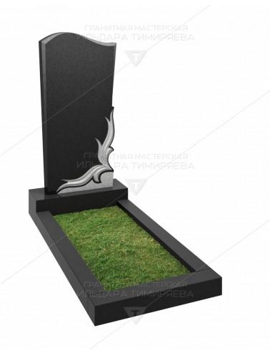 Памятник с цветком Модель vpk20-0189