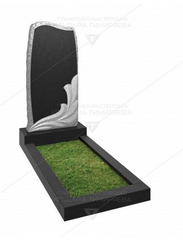 Памятник с цветком Модель vpk20-0098