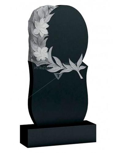 Памятник с цветком Модель vpk0416