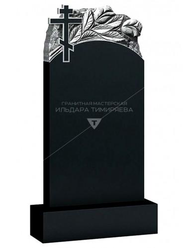 Памятник с крестом и розами Модель vpk0373