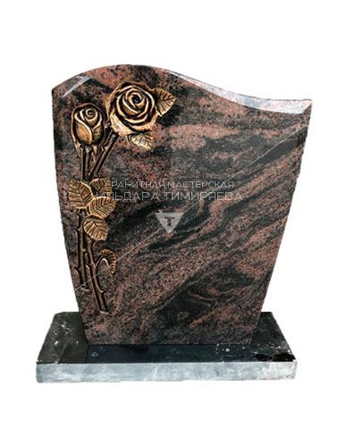 Памятник с розами Модель EU-2