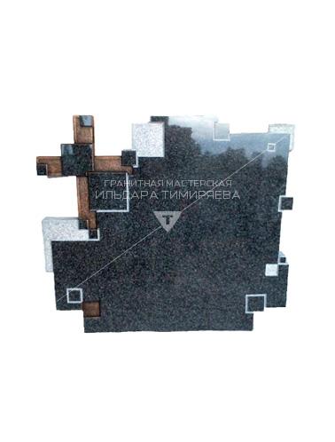 Памятник с крестом Модель EU-6