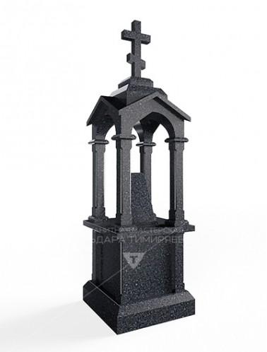 Памятник Часовня из гранита Модель vpkR340