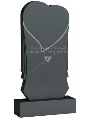 Памятник в форме сердца Модель v-0050