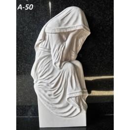 Скорбящий ангел (50 x 25 x 5,5 см)