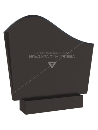 Памятник в форме высокой волны Модель vpk0120