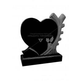 Памятник Сердце со свечой