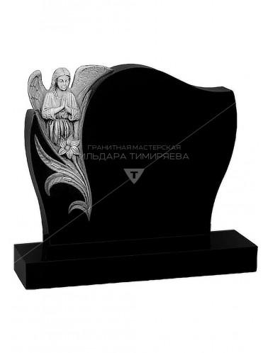 Эксклюзивный памятник Ангел с цветком №19