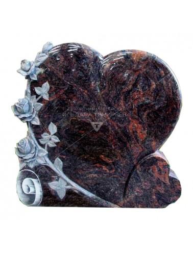 Оригинальный памятник Сердце vpk0515