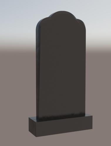 Памятник в форме купола Модель vpk0173