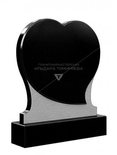 Памятник в форме сердца Модель vpk1311