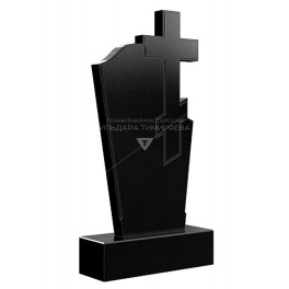 Надгробие крест справа