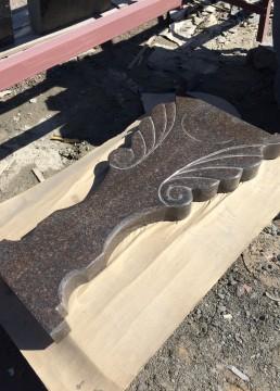 Ножка стола из гранита